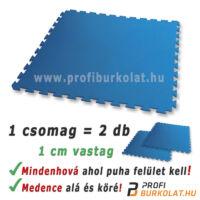 Polifoam puzzle medencealátét kék színben.