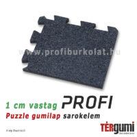 Profi puzzle gumilap sarokelem - fekete