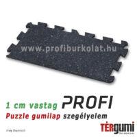 Profi puzzle gumilap szegélyelem - szórt mintás
