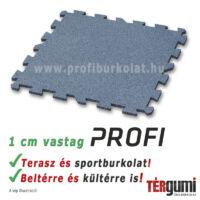 Profi puzzle gumilap - 1 cm vastag szürke