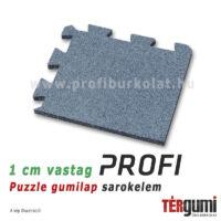 Profi puzzle gumilap sarokelem - szürke