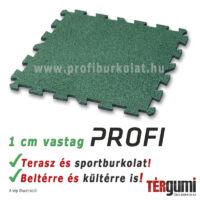 Profi puzzle gumilap - zöld
